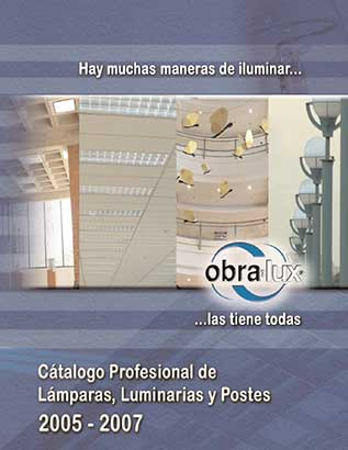 Catálogo profesional de lámparas luminarias y postes